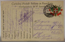 POSTA MILITARE 8^ DIVISIONE 16.10.1916 TIMBRO 120° REGGIMENTO FANTERIA #XP255D