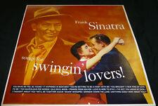 FRANK SINATRA : Songs for Swingin Lovers VINYL RECORD - (1956 Capitol) VGC