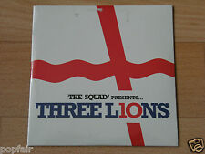 THE SQUAD - THREE LIONS 2010 UK CARD SLEEVE TREVOR HORN FACTORY SEALED UNOPENED