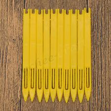 10x Netting Needle Shuttle Weaving Loom For Fishing Net Trawl Repair Tool Yellow