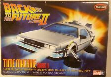 Polar Lights Back To The Future II Time Machine Mark II Snap It Model Kit