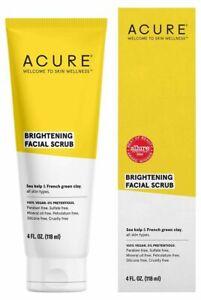 Acure Brightening Facial Scrub 118ml