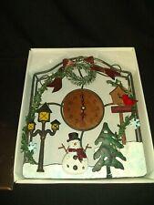 Vintage Christmas Clock Christmas Decorations Decor Unique Clock