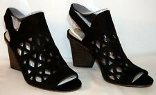 Vince Camuto Deverly Leather Heeled Sandals Black Women's Size 9M NEW