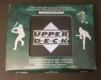 1992 Upper Deck Baseball 54 Card Team MVP Hologram Set Excellent condition