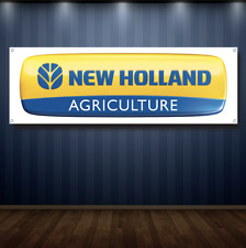 New Holland 1' X 3' Garage Banner, 13oz Vinyl - Free Shipping Dealership New