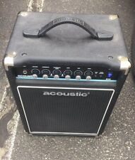 Acoustic B15- 15W Bass Combo Amp Perfect Condition