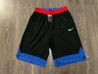 Nike Dri-FIT Dry Icon Mens Basketball Shorts Black Red Blue BRAND NEW AJ3914-011