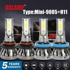 9005 + H11 LED Headlight Bulbs for Honda Civic 2014-2017 Accord 08-17 Hi/Lo Beam