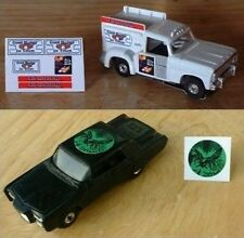 Aurora Good Humor & Green Hornet Repro Stickers!