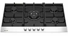 MILLAR GH9051TDB 5 Burner Built-in Gas on Glass Hob 90cm with Wok Burner