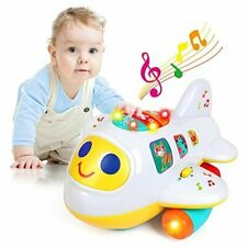 Baby Toys for 1 Year Old Boys Girls Electronic Airplane Toys Kids Baby Early