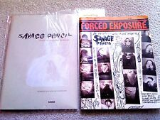 RARE CULT LOT:LIMITED GR. BOOK Savage Pencil+FORCE EXPOSURE #16 (LAMONTE YOUNG)!