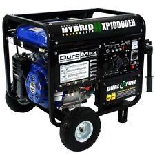 Duromax XP10000EH 10000 Watt Dual Fuel Hybrid Generator W Elec. Start 50-State