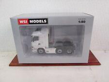 WSI SCANIA R Streamline Highline 6x2 Tractor Plain White Ideal Code 3