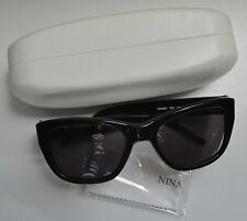 NEW Nina Ricci France Sunglasses NR3253 CO1 Black