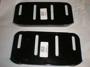 (SET OF 2 ) Sears Craftsman Skids Shoes 24279 Tractor Snow Blower Thrower