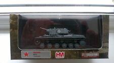 Hobby Master DIE CAST militaire Tank Model capturé KV-1 (front de l'est la seconde guerre mondiale)