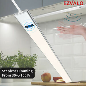 EZVALO Sensor Lampe Unterbauleuchte LED Lichtleiste Küche Beleuchtung Schrank 6W