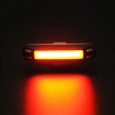 ROCKBROS Bike Tail Light Bicycle Rear Light Warning Light USB Rechargeable Black