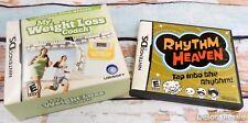 Nintendo DS Rhythm Heaven & My Weightloss Coach Game Lite ~ Dsi xl 2ds 3ds XL