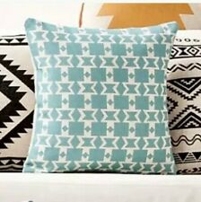 Brand New- Popular Green Abstract Moroccan Cushion cover
