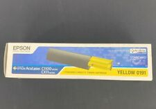 Epson Standard Capacity Toner Cartridge For AcuLaser C1100 and CX11, Yellow 0191