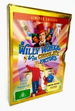 Willy Wonka & The Chocolate Factory Limited Edition Metal Slip Case DVD R4