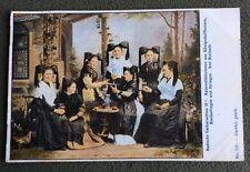 CPA. Allemagne. 1906. Badische Volkstrachten II. Costumes. Vin. Alcool  Coiffes.