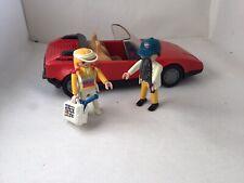 Playmobil 3708 Voiture Sport Rouge Décapotable
