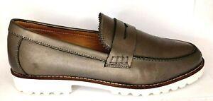 Human Premium Leather Slip on Loafer Women's Shoes US 8, UK 6, EUR 39, 25.1 cm
