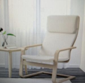 NEW In BOX-IKEA Pello Chair & Cushion