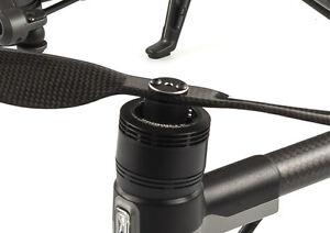 KopterMax Carbon Fiber drone propeller adapters for DJI Inspire 2 props