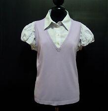 LUISA SPAGNOLI Camicia Maglia Donna Cotone Rayon Woman Shirt Sz.L - 46