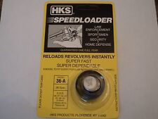 HKS Speedloader;  36-A;  5-Shot;  38 Spec;  357 Mag;  Fast & Dependable