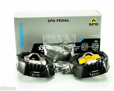 SHIMANO DX PEDALS PD-M647 BRAND NEW IN BOX WITH CLEATS