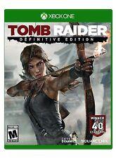 NEW Tomb Raider: Definitive Version (Microsoft Xbox One, 2014) 1