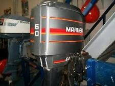 OUTBOARD MOTOR WRECKING 60HP MARINER MERCURY 3 CYLINDER PARTS FROM $10