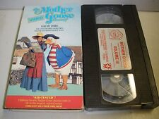 The Mother Goose Video Treasury Vol. 3 (VHS, 1989)