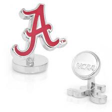Alabama Crimson Tide Palladium CUFFLINKS licensed by NCAA NEW in Box 50% off!