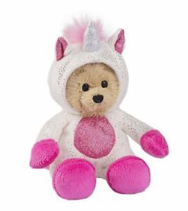 "Ganz Wee Bear Unicorn Plush Stuffed Animal, 6"""