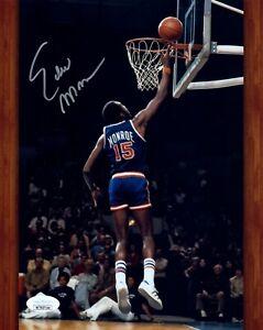 Earl Monroe Autograph Signed 8x10 Photo #21 JSA COA NBA HOF TOP 50 CHAMPION