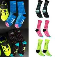 Mens Womens Sport Bike Cycling Bicycle Riding Socks Running Castelli-Breathable