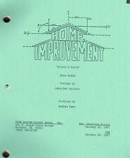 "HOME IMPROVEMENT show script ""Wilson's World"""
