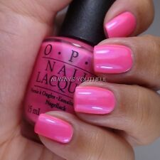 OPI NAIL POLISH Hotter Than You Pink N36 - Neon Collection 2014