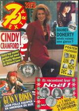 7 EXTRA 92/52 (23/12/92) CINDY CAWFORD VANESSA PARADIS AXELLE RED VOISINE DAHO