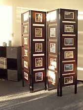 Oscar Picture Folding Screen Room Divider Standing Photo Frames Collage Frames