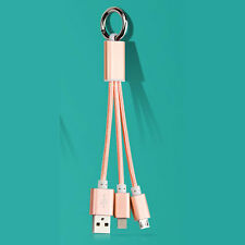 3 in 1 USB Mobile Power Cable Universal Cell Phone Multi Data Charging Cable