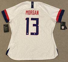 Alex Morgan Dri Fit NIKE Soccer USA Womens XL Jersey CJ7023-101 World Cup