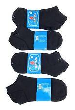 12 Paar Sneaker Socken, schwarz, Gr 38-41, Baumwolle 95%